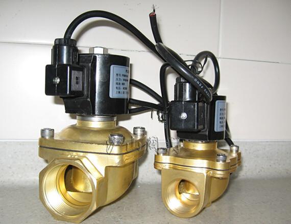 SLDF水下专用电磁阀实物图