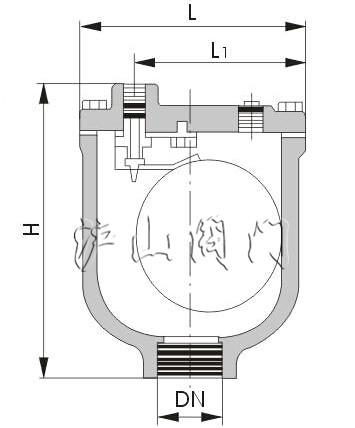 内部所有零件包括浮球,杠杆,阀座等均为304不锈钢,内部使用标准排气孔图片