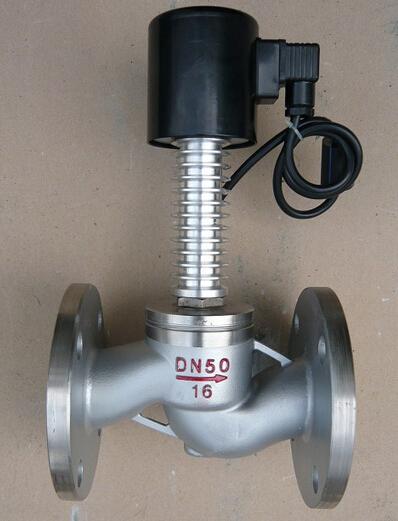zcg高温蒸汽电磁阀产品特点及结构原理