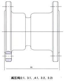 YB43X-10(16)T(P)固定比例式减压阀