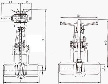 二,z960高温高压电站闸阀执行标准图片