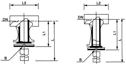 对焊连接直流式T型 结构图